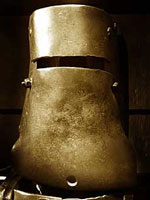 Ned Kelly's armour used at the siege of Glenrowan. Dan Kelly, Steve Hart and Joe Byrne all donned similar armour.